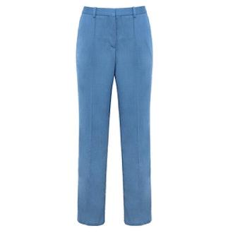 Wool Slim Crop Pant