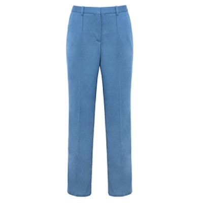 Wool Slim Crop Pant