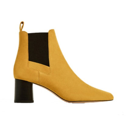 Stretch Leather Boots