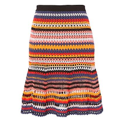 Crochet Flare Skirt