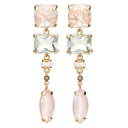 Anemoni Pink Quartz Earrings