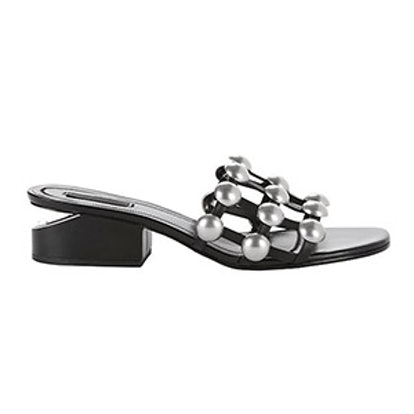 Lou Studded Slide Sandal