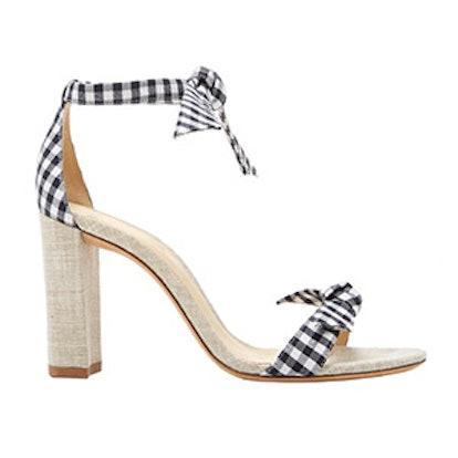 Clarita Gingham Sandal