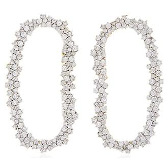 18K White Gold Diamond Mia Earrings