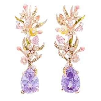 Posie Amethyst Earrings