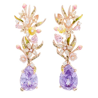 Posie Amethyst Earrings