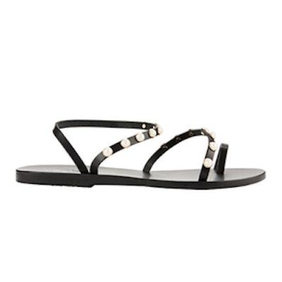 Apli Eleftheria Pearl Detail Sandals