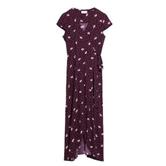 Glory Bower Print Wrap Dress