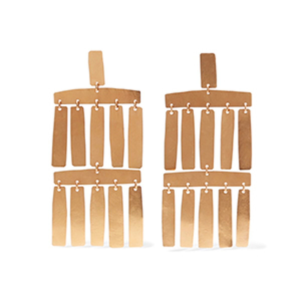 Roma Gold-Plated Earrings