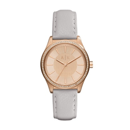 Rose Gold Glam Watch