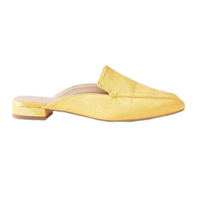 Lashes Square Toe Ballet Mules