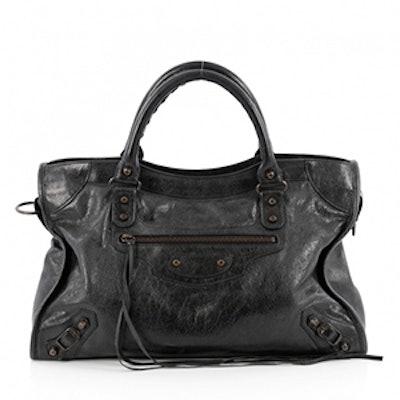 Green Leather Handbag