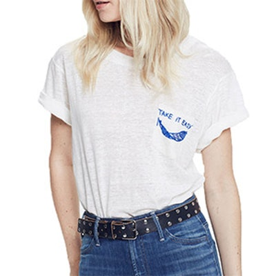 Take It Easy Pocket Tee