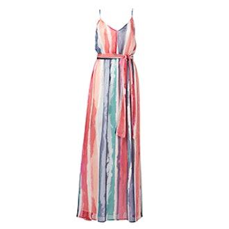 Joyner White Print Maxi Dress