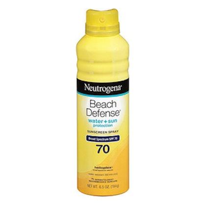 Beach Defense Sunscreen Spray SPF 70