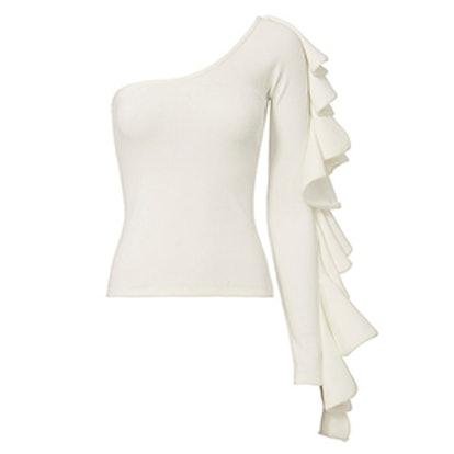 Electra Ruffle Sleeve Top