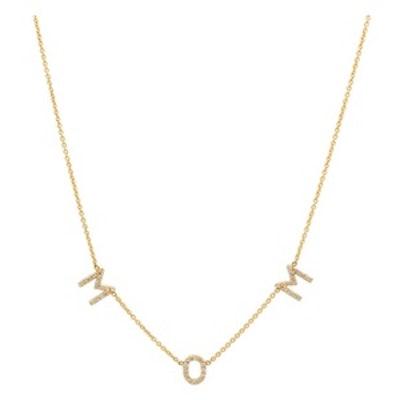 Diamond Mom Necklace