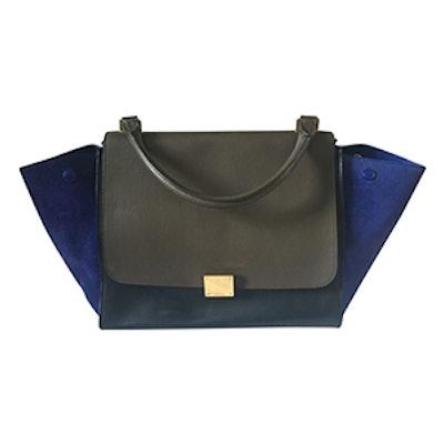 Trapèze Leather Handbag
