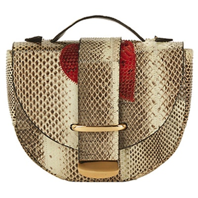Red Heart Python Bag