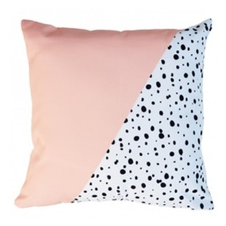 Spots Pillow in Pink