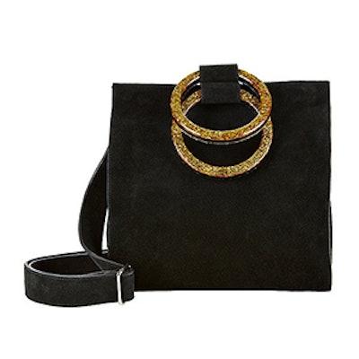 Aces Suede Top Handle Bag