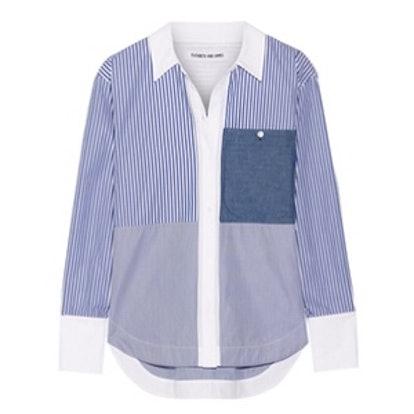 Keating Striped Cotton-Poplin Shirt