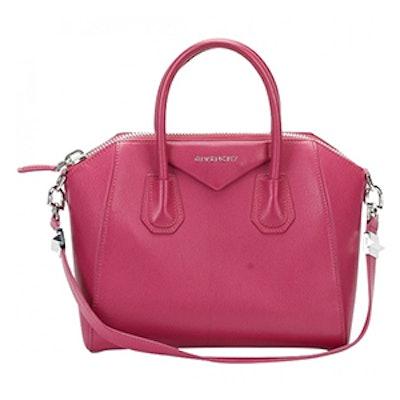 Antigona Leather Bowling Bag