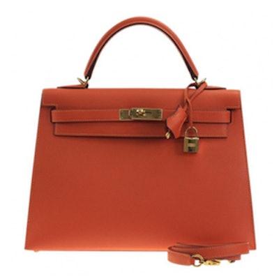 Kelly Leather Handbag