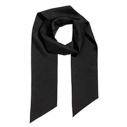 Narrow Silk Scarf