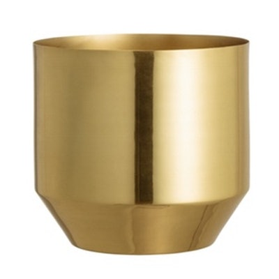 Small Metal Plant Pot