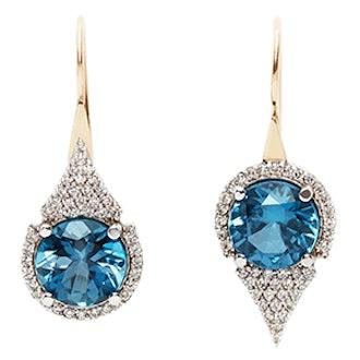 Asymmetric Medium Aziza Earrings