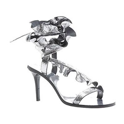 Ansel Metallic Leather Sandal