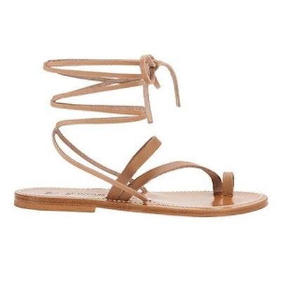 Ellada Ankle Wrap Sandals