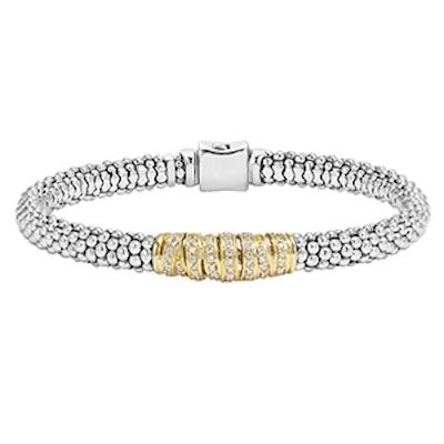 Embrace Caviar Beaded Bracelet