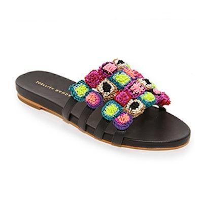 Loeffler Randall Sal Slide Sandals