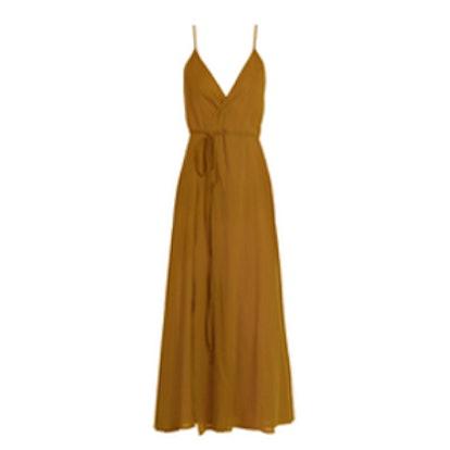Ballet Wrap Cotton Dress