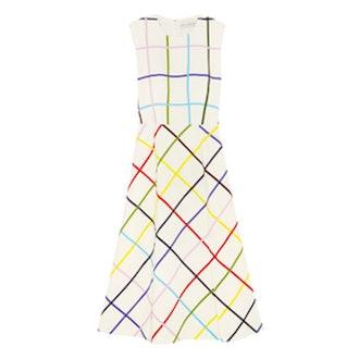 Osmond Printed Stretch-Crepe Dress