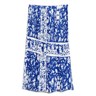 Pleats Panel Skirt
