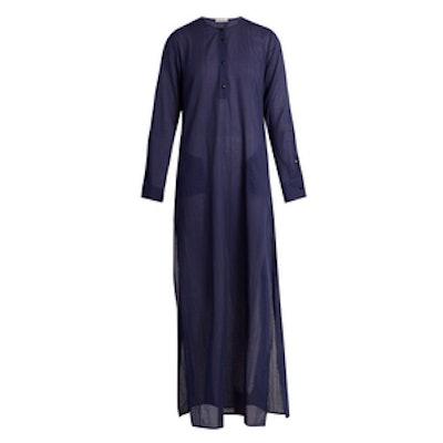 Long-Sleeved Maxi Kaftan