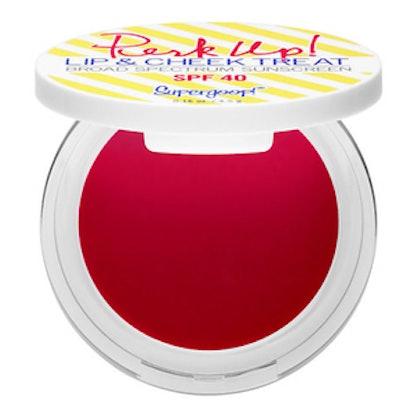 Perk Up! Lip & Cheek Color Treat Broad Spectrum Sunscreen SPF 40