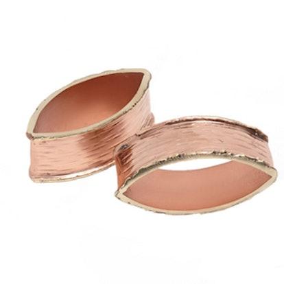 Pink Metallic Napkin Ring