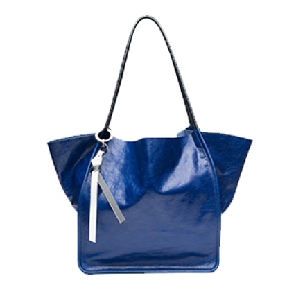 Extra Large Tote In Lapis