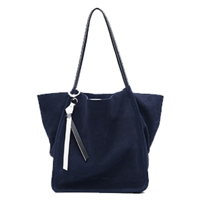 Extra Large Tote In Indigo