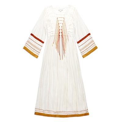 Annabel Lurex-Trim Gown