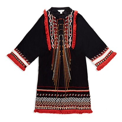 Bianca Embroidered Mini Dress