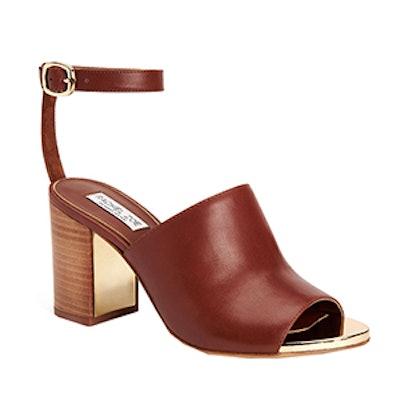 Grechen Leather Block Heel Sandals