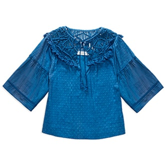 Janis Crochet-Detail Top