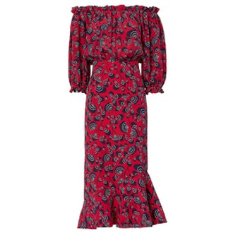 Grace Off-The-Shoulder Dress