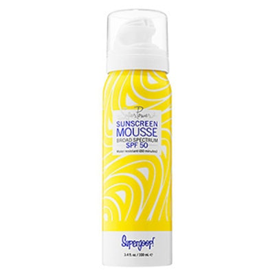 Super Power Sunscreen Mousse Broad Spectrum SPF 50