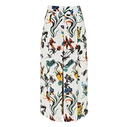 Gothic Floral Nerd Pants